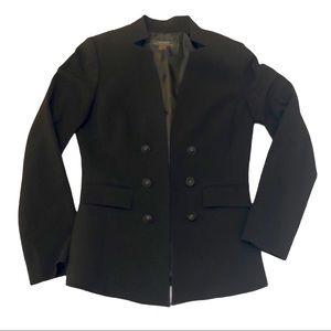 Tahari black fitted blazer